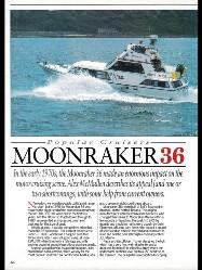 J.C.L. Marine ltd - MONNRAKER 36