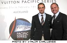 Il primo team completamente italiano alla Louis Vuitton Pacific Series