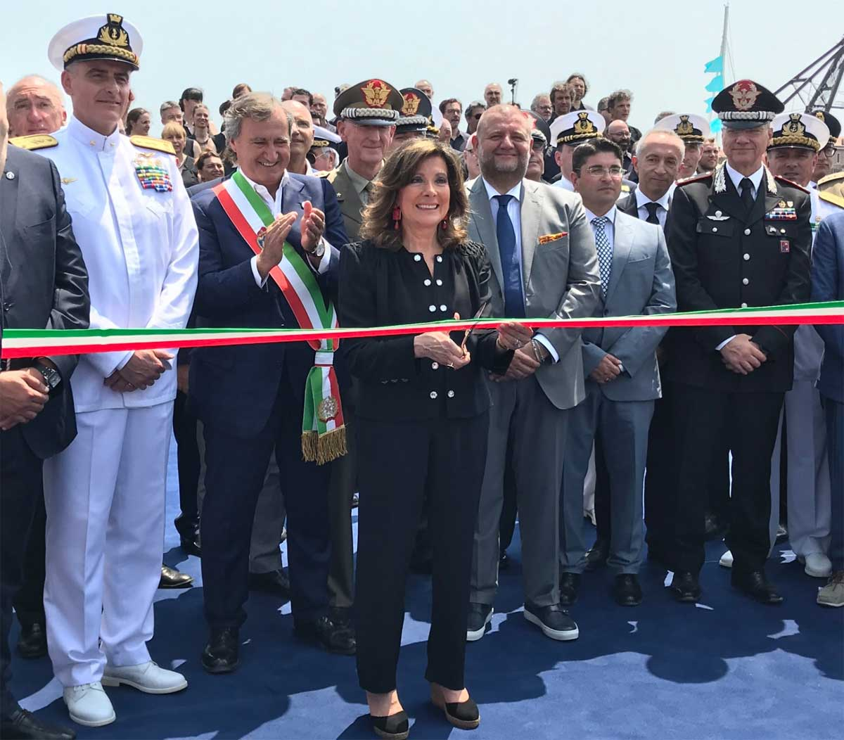 cerimonia di apertura con la presenza del presidente del Senato Maria Elisabetta Alberti Casellati e il Sindaco di Venezia Luigi Brugnaro